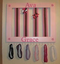 Girl bow hanger frame... one of my personal favorites