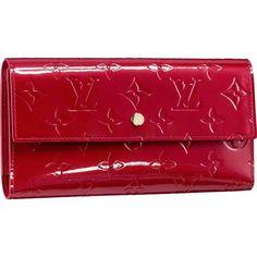 Louis Vuitton Monogram Vernis International Wallet M93531 Ape