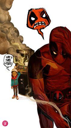 Deadpool the Poor Sport by *Deadlydelmundo on deviantART