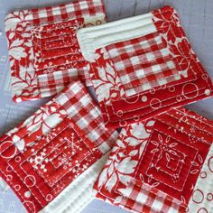 Christmas Quilted Coasters