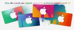 how to create apple id without credit card ?