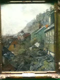 Uitzicht vanuit een raam