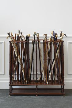 A group of assorted walking canes and walking sticks, late 18th-early 20th centuries SOLD. 62,500 USD