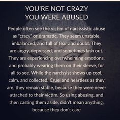 Below you can find amaizng and greatest relationship tips or marriage tips. Narcissistic People, Narcissistic Mother, Narcissistic Behavior, Narcissistic Abuse Recovery, Narcissistic Personality Disorder, Narcissistic Sociopath, Narcissistic Abuse Syndrome, Borderline Personality Disorder Quotes, Sociopath Traits