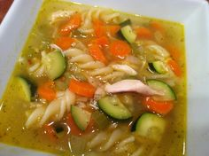 step by step photos instructions of making a homemade chicken noodle soup for beginning cooks or people needing simple recipes Clean Eating, Healthy Eating, Healthy Food, Good Food, Yummy Food, Cooking Recipes, Healthy Recipes, Chicken Noodle Soup, Soup And Salad