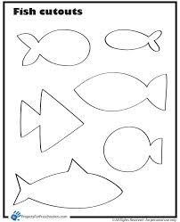 printable fish template google search