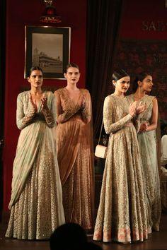 Sabyasachi Collection 2014   Vogue Wedding Show 2014