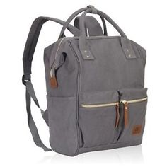 Veegul-Stylish-Doctor-Style-Canvas-School-Backpack-Travel-Bag-for-Men-Women-24-L