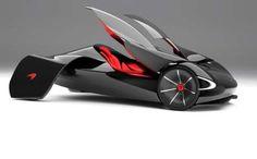 Winged Concept Cars : McLaren JetSet