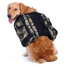 Dog Saddle Bag  Deskripsi: Tas punggung untuk anjing ukuran Sedang dan Besar (golden retriever labrador rottweiller dsb). Dibuat dari bahan berkualitas mudah dibersihkan. Dilengkapi tali yang bisa disesuaikan dengan ukuran badan anjing anda  Features: color: camouflage material: oxford cloth size (cm): neck 52-66 bust 86-110 back long 37  Order via WhatsApp 087896532077 & LINE @wec7207p (pake @) #puppies #onlinepetshop #petshop #makanananjing #puppy #sofa #pawbulous #petshopindo…