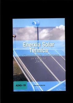 Enerxía solar térmica na Comunidade Autónoma de Galicia : 2005