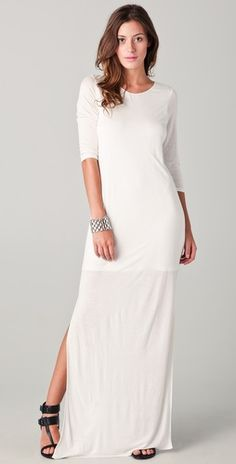 Mason by Michelle Mason Maxi Dress  This probably wouldn't work on me- but I think it is simply stunning.