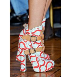 loving these    The wackiest shoes from Paris Fashion Week - Gabbaland | Gallery | Glo