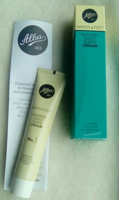 hand cream alba #handcream #cremedemãos #beautycare #beautyproduts #beautystuff #skincare #osmeusprodutos #alba #vita33pt