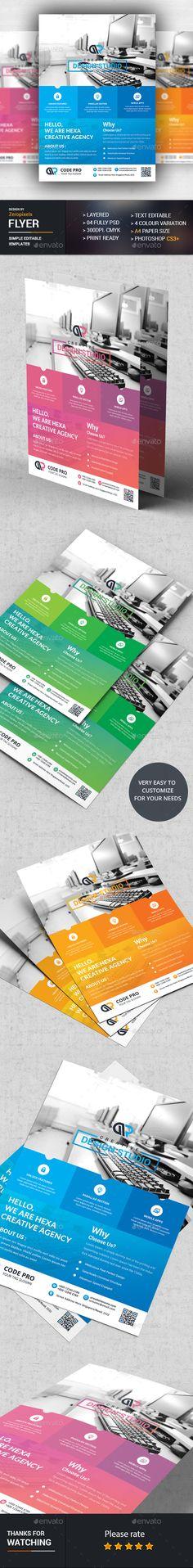 Blue Hexagon Technology Annual Report Brochure Flyer Design