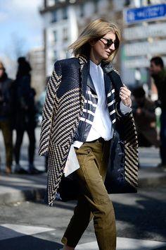 Street style Paris Fashion Week otono invierno 2014 | Galería de fotos 126 de 249 | VOGUE