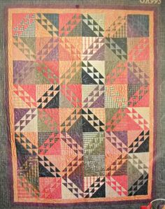 Plaids and Waves Quilt Pattern by Fall Frolic by CurlicueCreations, $5.00