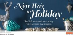One Kings Lane - All Sales Online Furniture Stores, All Sale, One Kings Lane, Seasonal Decor, Art Quotes, Shop Now, Seasons, Holiday, Inspiration