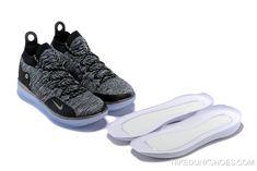 f4e3bdd1736e Free Shipping Nike KD 11  Oreo  Black Grey S Signature