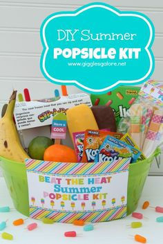 Create a Popsicle Kit as a Summer Treat for Friends and Family | My Daily Bubble