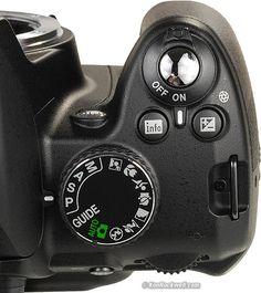 Nikon D3000 Controls