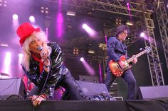 Michael Monroe and his band brought Ruissalo its rock, which many still Ruisrock needs.
