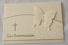Kommunionkarte von Liebe Grüsse auf DaWanda.com