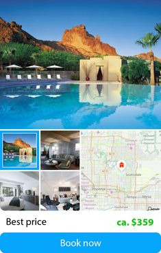 Sanctuary Camelback Mountain Resort & Spa  (Scottsdale, USA) – Book this hotel at the cheapest price on sefibo.