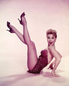 "Mitzi Gaynor. I love her in ""There's No Business Like Show Business"""