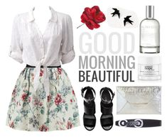 """""""Good Morning Beautiful ;)"""" by mo-de-17 ❤ liked on Polyvore featuring Raoul, Forever New, H&M, JNB, (MALIN+GOETZ), philosophy and Rimmel"""