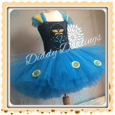Frozen Fever Anna Tutu Dress. Anna Tutu Dress. Elsa Tutu Dress. Princess Tutu Dress. Frozen Fever Tutu. Beautiful & lovingly handmade.  Price varies on size, starting from £25.  Please message us for more info.  Find us on Facebook www.facebook.com/DiddyDarlings1 or our website www.diddydarlings.co.uk