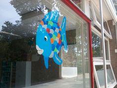 Rainbow Fish / Mooiste vis van de zee   Raamschildering 2014-2015 Outdoor Decor, Kids, Home Decor, Hipster Stuff, Young Children, Boys, Decoration Home, Room Decor, Children
