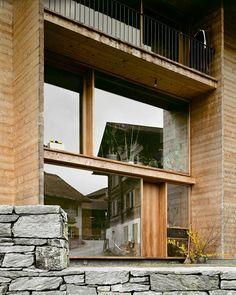 Luzi house. Leis. Vals. Peter Zumthor. Walter Mair photography