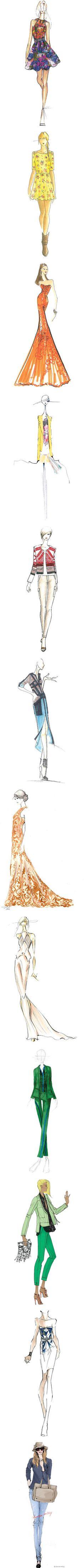 """Sketch Grils"" by mionny on Polyvore"