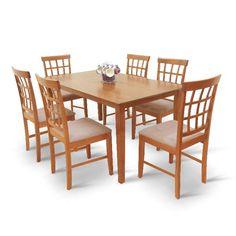 Moderné a praktické jedálenské sety Dining Table, Grid, Furniture, Design, Home Decor, Homemade Home Decor, Diner Table, Dinning Table Set, Home Furnishings