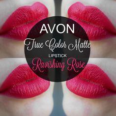 mela-e-cannella: Avon True Color Matte Lipstick - Ravishing Rose