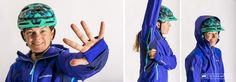 Endura MT500 Waterproof Jacket II featuring thumb holes underarm ventilation and an over or under the helmet hood.