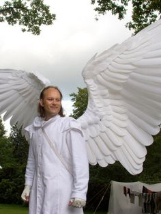 Dutch Deviant art user Bushitaka built these fully-articulated wings as part of a robotic motorized wing-suit.