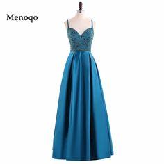 FADISTEE Elegant Long Bridesmaid Dresses Appliques Lace beading ... fd7514751f19