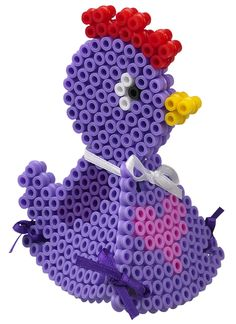 sandylandya@outlook.es  3D Chicken hama beads