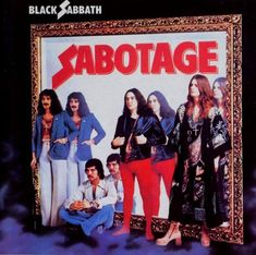 Black Sabbath Sabotage on LP Sabotage, originally released in the is the sixth studio album from British heavy metal pioneers Black Sabbath and the last of the so-called 'First Six. Black Sabbath Album Covers, Black Sabbath Albums, Black Sabbath Concert, Tony Iommi, Classic Rock Albums, Musica Disco, Rock Album Covers, Metal Albums, Great Albums