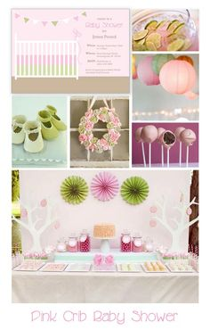 Girl's Pink and Green Baby Shower Inspiration pink lemonade w/ lime slices Pink And Green, Pink Purple, Hot Pink, Shower Inspiration, Inspiration Boards, Green Girl, Pink Girl, Party Themes, Party Ideas