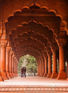 Red fort in Dheli, India