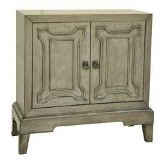 Jeco Inc. Antique Wooden 2 Drawer Cabinet | Wayfair