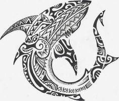 56 Ideas for tattoo designs maori polinesian Maori Tattoos, Tribal Shark Tattoos, Band Tattoos, Hawaiian Tribal Tattoos, Irezumi Tattoos, Marquesan Tattoos, Animal Tattoos, Body Art Tattoos, Sleeve Tattoos