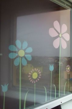 Jarní výzdoba oken