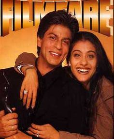 Shah Rukh Khan & Kajol at Film Fare 1998 Issue
