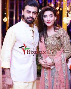 Urwa Hocane and Farhan Saeed at Abdullah Seja's Mehndi