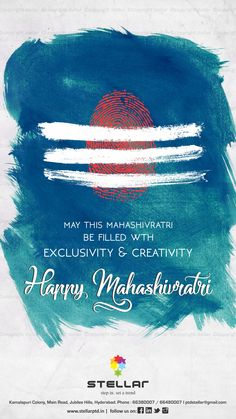 Stellar wishes you all a very happy#Mahashivratri2017#festival#India  To explore our products, visit our store or website - www.stellarptd.in  #sanitaryware #tiles #wallpaper #woodenflooring #veneers #laminates #plywood #kitchen #fixtures #harware #highlighters