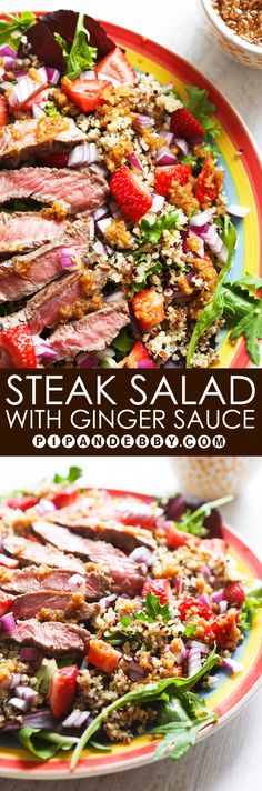 ... steak salad steak taco salad steak salad with horseradish dressing